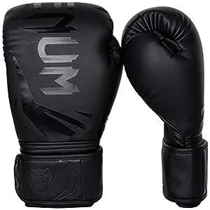 Venum Challenger 3.0 Boxhandschuhe, Schwarz, 12 oz