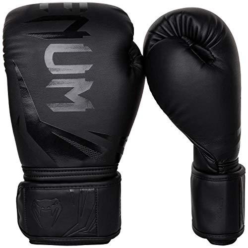 Venum Challenger 3.0 Boxhandschuhe, Schwarz, 10 oz