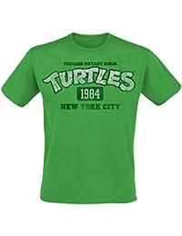 Teenage Mutant Ninja Turtles NY 1984 T-Shirt Green