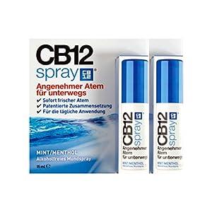 2x CB12 Spray 15ml PZN: 12414534 Mundspray für frischen Atem Alkoholfrei