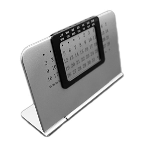 Sleek Ewiger Desktop Kalender Everlasting für Home & Office freistehend -