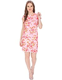 Bella Figura Couture Dark Pink Printed Dress for Women