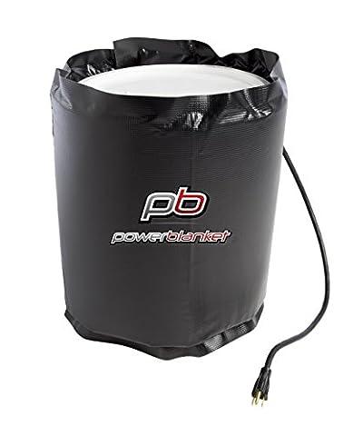 powerblanket bh20rr-uk isoliert Rapid Rampe, die Sie Heizung, Bucket Heizung Decke, feste Thermostat Set zu pflegen 38Grad C, 20L, schwarz