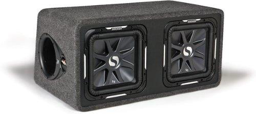 Dual-Bassreflexbox Schwarz ()