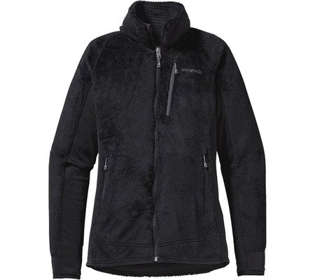 Patagonia R2 Veste polaire Femme French Black w / Feather Grey