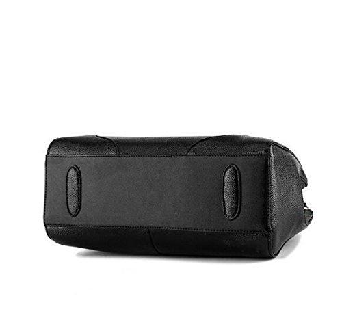 Stereotypen Süße Mode Handtaschen Messenger Bag Schulter Tasche Reißverschluss Blue1