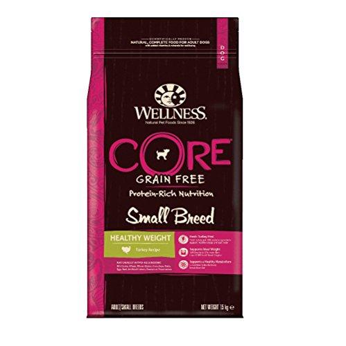 Wellness CORE Small Breed Healthy Weight / Hundefutter Trocken für kleine Rassen / Getreidefrei / Hoher Fleischanteil / Reduzierter Fettgehalt / Pute, 1,5 kg