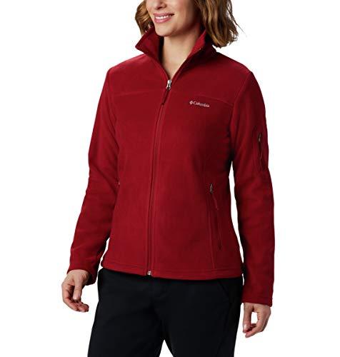 Columbia Fast Trek II Chaqueta Polar para Mujer, Color: Rojo (Beet/Daredevil), Talla:...