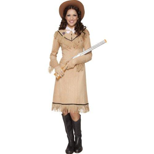 �m Annie Oakley Wilder Westen Cowgirl Größe M (Kostüme Für Annie)