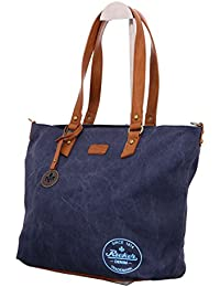 H1386, Satchel, Womens, Blue (Denim), 12x30x38 cm (B x H x T) Rieker