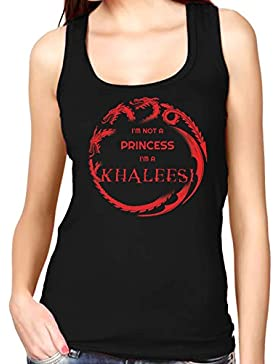 35mm - Camiseta Mujer Tirantes -I'M Not A Princess I'M A Khaleesi - Women'S Tank Top