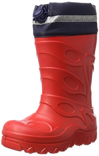 Beck Basic, Stivali di Gomma Unisex – Bambini, Rosso (Rot), 28 EU