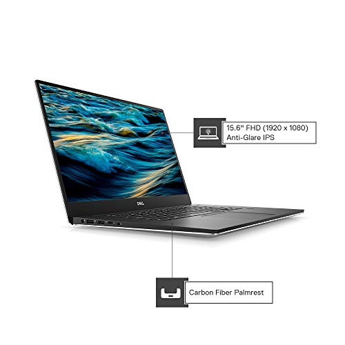"Dell XPS 9570 15.6-inch FHD Infinity Edge Display Laptop (eighth Gen-Core i7-8750H/16GB/512 GB SSD/Windows 10 + Ms Office H&S""16/ Nvidia GeForce GTX 1050Ti 4GB Graphics), Silver Image 2"