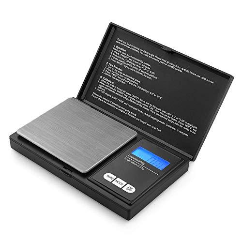 Reteck 200g/0,01g Taschenwaage - 200 x 0.01g Digitale Taschenwaage, Feinwaage, Digitalwaage Goldwaage Münzwaage mit LCD-Anzeige for Tabletten,Schmuck und vieles mehr