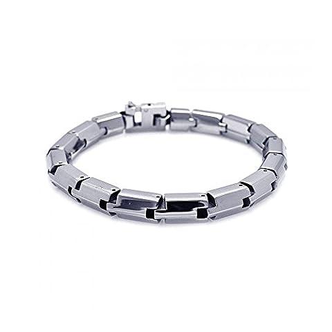 Stainless Steel Round Snake Bracelet
