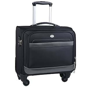 Trolley PC,Coofit Trolley Cabina Borsa Porta Notebook 15.6 Trolley Bagaglio a Mano Trolley da Viaggio