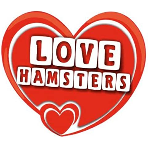 Love Hamsters - Home / Car Sticker