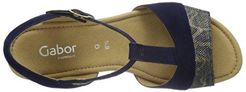 Comfort Blu Gabor Donna Sandali Gabor 36 blue Blau IwqSrIx5