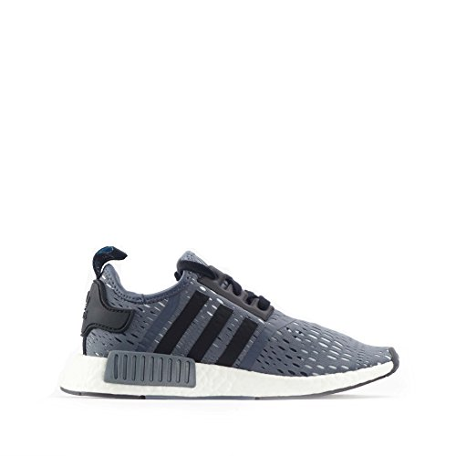 Adidas Originals NMD_R1 White Mesh Trainers Grey/Black