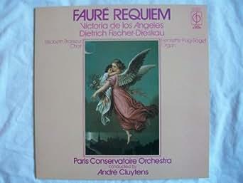 CFP 40234 Faure Requiem Paris Conservatoire Andre Cluytens LP