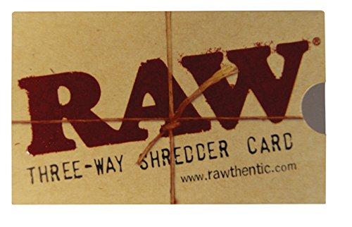 RAW Three-Way Shredder Card 8,5 x 5 cm! NEU! 20 RAW Shredder Cards
