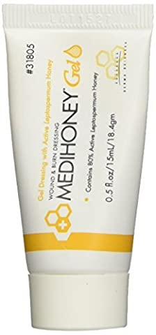 Improved Medihoney Gel Wound and & Burn Dressing from Derma Sciences, 0.5 oz, by Medihoney