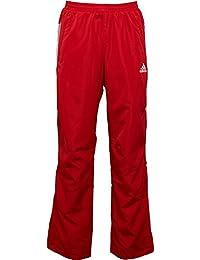 on sale da76d 6bad1 Hombre Adidas es Pantalon Amazon Ropa Rojo qtPxYaww