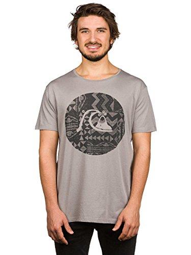 Herren T-Shirt Quiksilver Garment Dye Circle Bubble T-Shirt wet weather