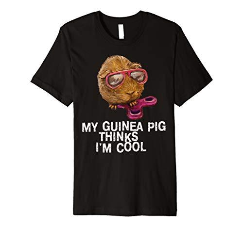 Weihnachten Meerschweinchen Kostüm - Guinea Pig T-Shirt CUTE Meerschweinchen Navy für Damen Herren Jungen Mädchen