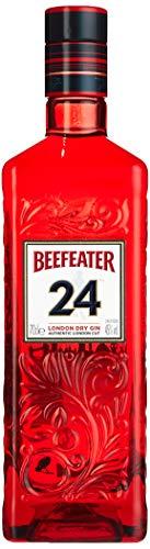 Beefeater 24 London Dry Gin, Der meistausgezeichnete Gin der Welt, Premium London Dry Gin hochwertiger Wacholderschnaps mit ausgewählten Botanicals, 1 x 0,7 L