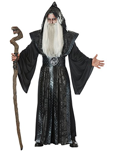 Mens Dark Wizard Fancy dress costume Large/X-Large
