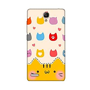 CUTE KITTY BACK COVER FOR XIAOMI REDMI NOTE 4G