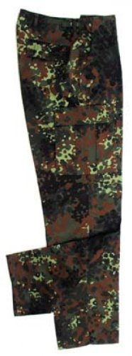 MFH US Kampfhose BDU Hose Flecktarn Einsatzhose Feldhose Outdoorhose Army S-3XL …