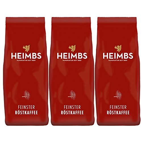 HEIMBS Royal Feinster Röstkaffee, 500g gemahlen, 3er Pack