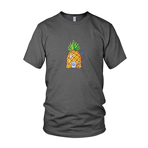 - Herren T-Shirt, Größe: XXL, Farbe: grau (Kinder Spongebob Schwammkopf Kostüme)