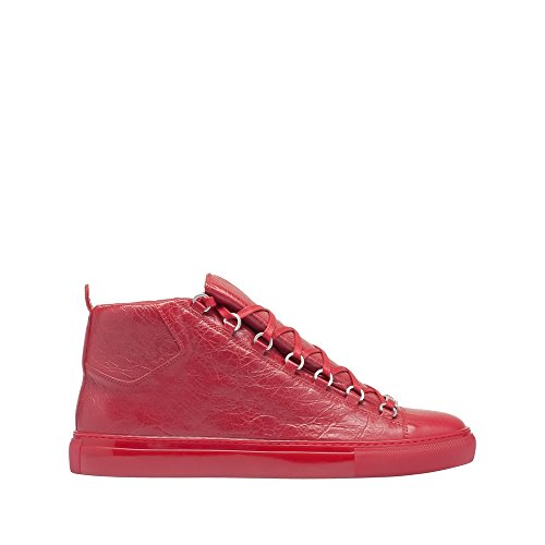 balenciaga-womens-433296wayn07613-red-leather-hi-top-sneakers
