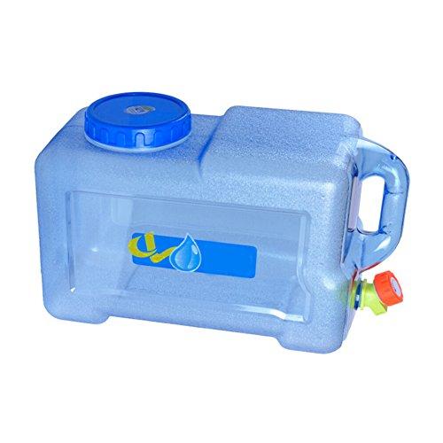 PROKTH 12 Liter Wasserkanister Wasserbehälter Kanister mit Auslaufhahn, Dicht und Robust, für Camping und Ausflug