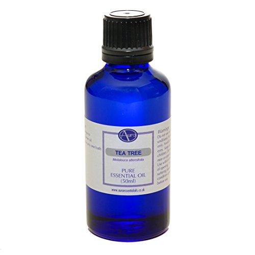 Huile essentielle d'ARBRE À THÉ pour aromathérapie - 100 % pure - 50 ml