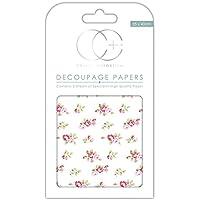 Craft consorcio papel para Decoupage, diseño de Premium–Arrojado de rosas