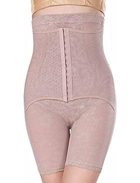 Feoya - Bragas Moldeadoras Faja Cintura Alta para Cincher Invisible Ajustable Push-Up Recuperación con Pantalones...