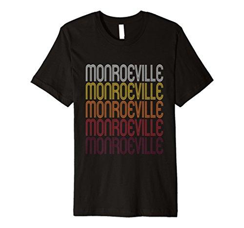 Monroeville, PA   Vintage Style Pennsylvania T-shirt - Monroeville Pa