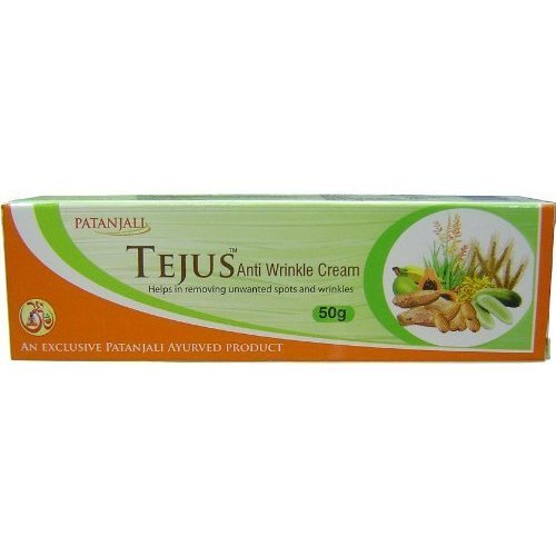 Tejus Anti Wrinkle Cream - Buy 1 Get 1 Free by Patanjali
