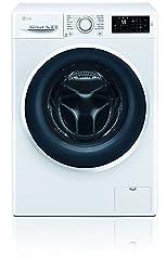 LG Electronics F 14WD 85EN0 Waschtrockner / A / 1078 kWh/Jahr / 1400 UpM / 8 Kg / 11200 liter/jahr / Digitaldisplay mit Restzeitanzeige / weiß