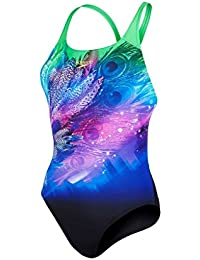 Speedo Damen Lacoca Placement Digital Powerback Badeanzug