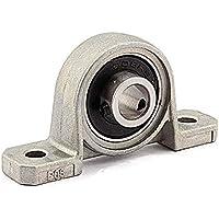 Bloque de Almohada de rodamiento de Bolas de diámetro Interno, 1 Pieza 8mm KP08 Soporte de Eje de rodamiento Rodamientos montados en Rodillos esféricos Carcasa de Bloque de Almohada