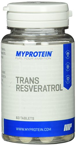 Trans-resveratrol (Myprotein Trans-Resveratrol (Antioxidans)  60 Tabletten, 1er Pack (1 x 10 g))
