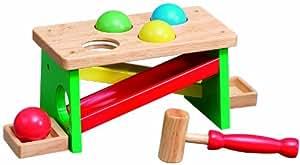 Wooden Toys Wooden Hammer/ Ball