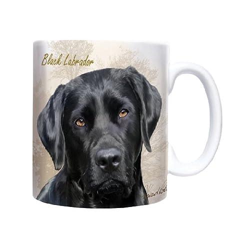 Black Labrador - Sepia - Mug - Becher -