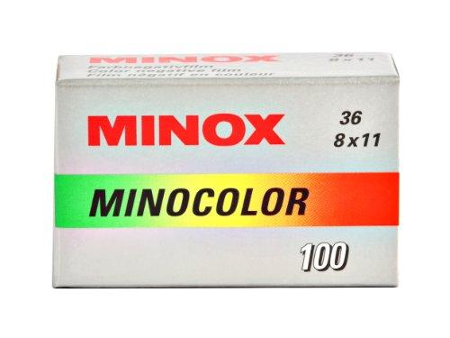 MINOCOLOR 100 Film (36 Aufnahmen), 5er Pack Minox Film