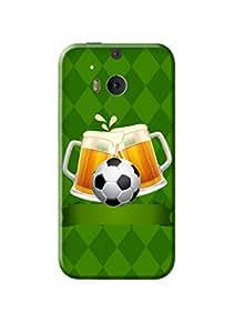HTC M8 Back Cover Kanvas Cases Premium Quality Designer 3D Printed Lightweight Slim Matte Finish Hard Case for HTC M8